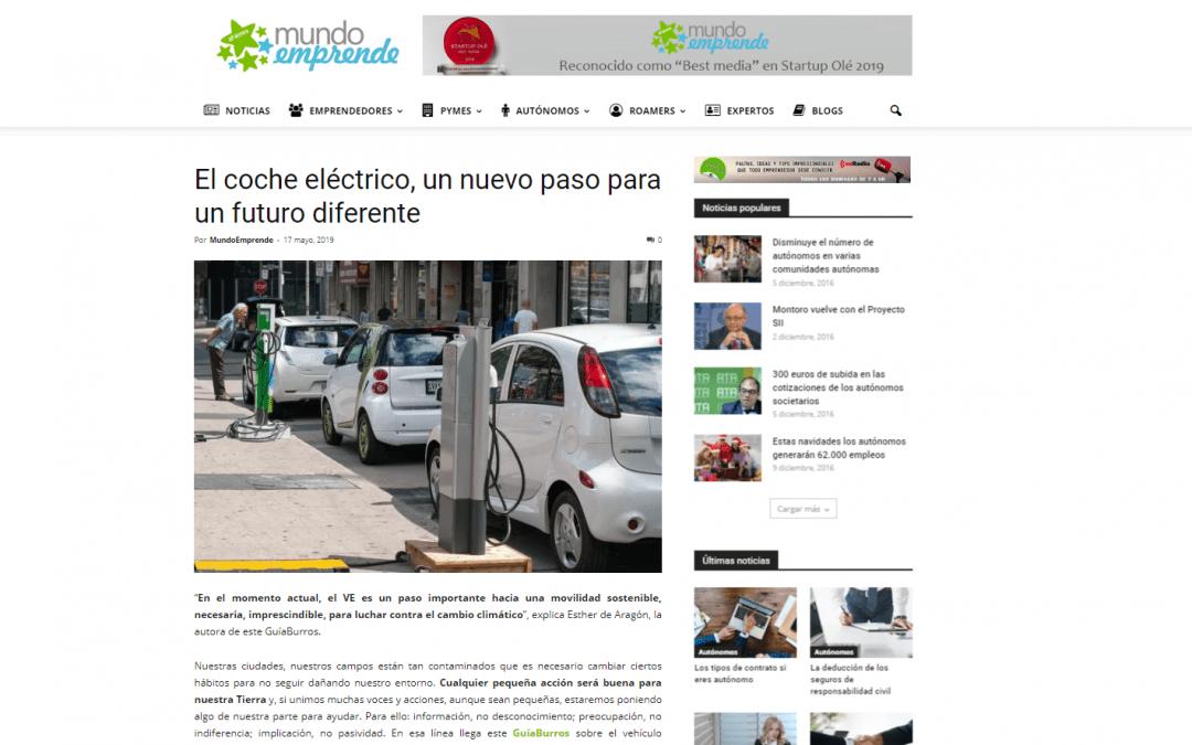 Mundo Emprende, portal online, recomienda a sus emprendedores el GuíaBurros: Comprar un coche eléctrico
