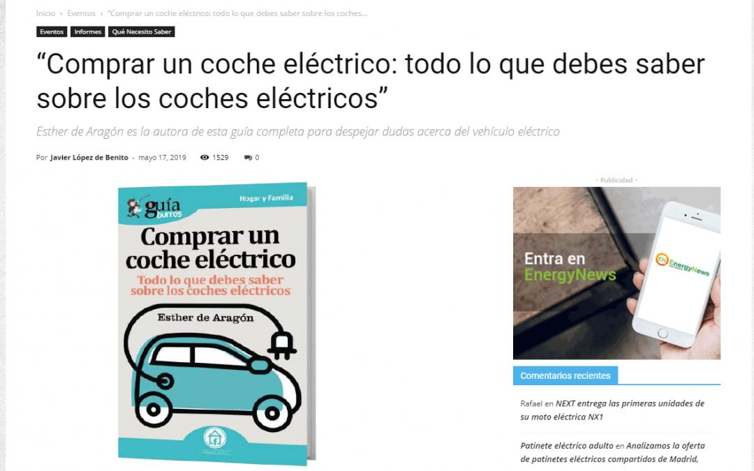 Movilidad Eléctrica, medio especializado en vehículos eléctricos, se hace eco del GuíaBurros: Comprar un coche eléctrico