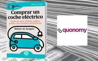 El «GuíaBurros: Comprar un coche eléctrico» en la revista digital Quonomy.com