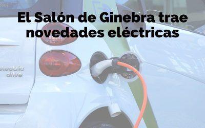 El Salón de Ginebra trae nuevos coches eléctricos