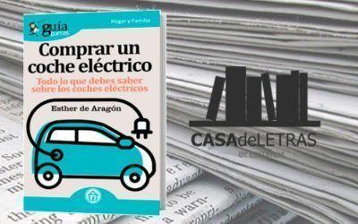 El «GuíaBurros: Comprar un coche eléctrico» en la web de Casa de Letras